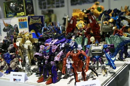 TransMY Beast Wars on display